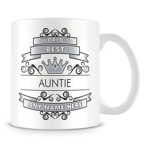 Auntie Mug - Worlds Best Shield
