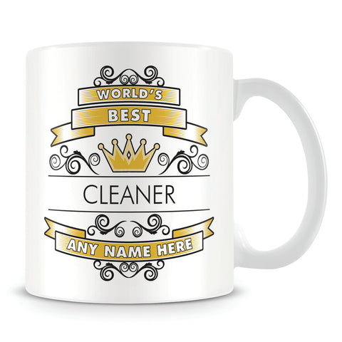 Cleaner Mug - Worlds Best Shield