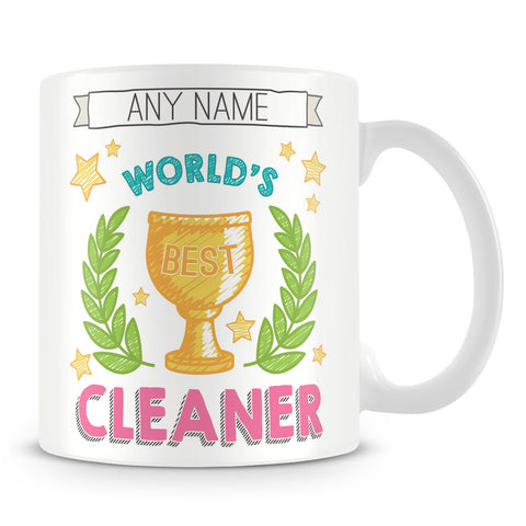 Worlds Best Cleaner Award Mug