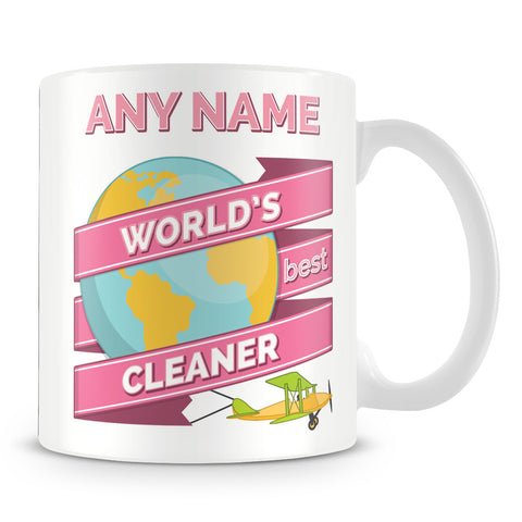 Cleaner Worlds Best Banner Mug