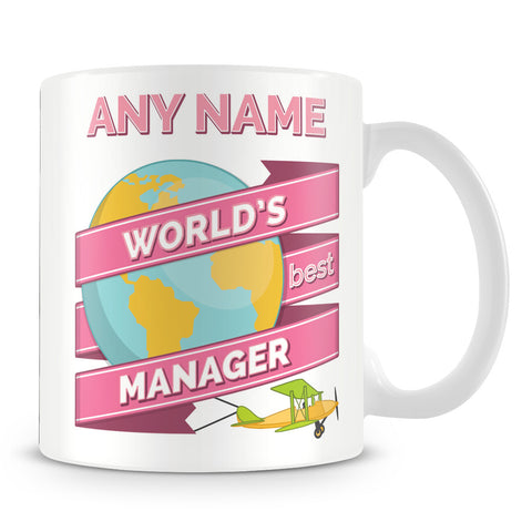 Manager Worlds Best Banner Mug
