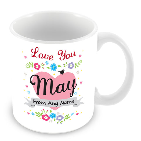 May Mug - Love You May Personalised Gift