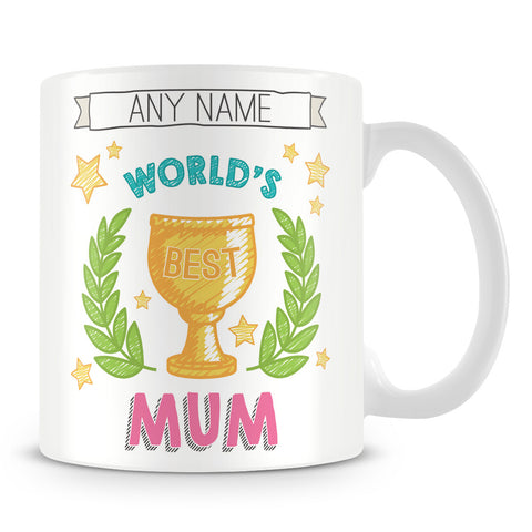 Worlds Best Mum Award Mug