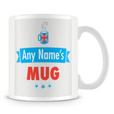 Personalised Name Mug – Blue