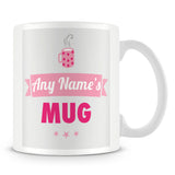 Personalised Name Mug – Pink
