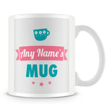 Personalised Name Mug – Turquoise