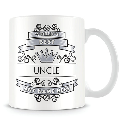 Uncle Mug - Worlds Best Shield
