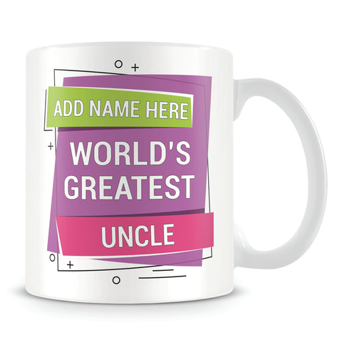 Uncle Mug - Worlds Greatest Design