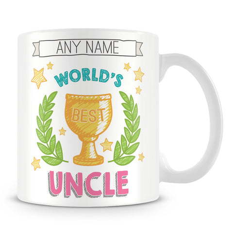 Worlds Best Uncle Award Mug