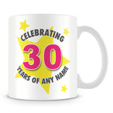 Star Personalised Birthday Mug – Pink