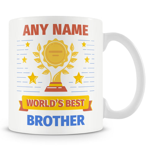 Brother Mug - Worlds Best Brother