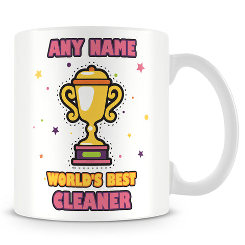 Cleaner Mug - Worlds Best Trophy