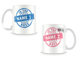 The Boss' His 'n Hers Mugs Personalised Mugs