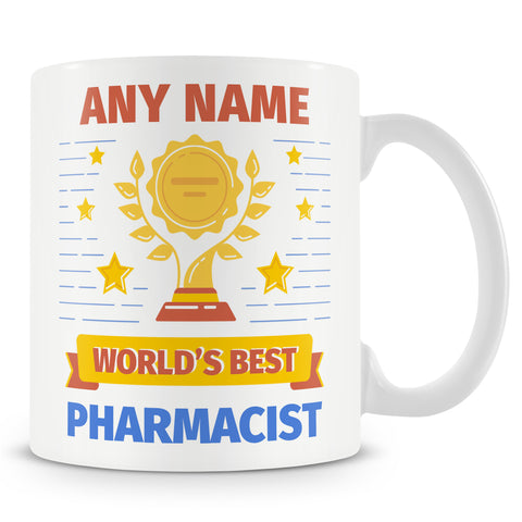 Pharmacist Mug - Worlds Best Pharmacist