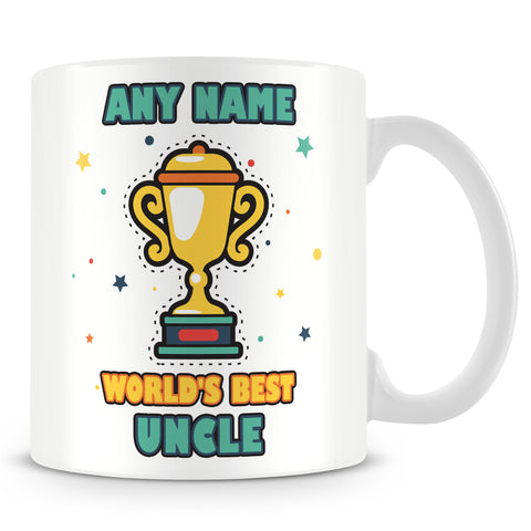 Uncle Mug - Worlds Best Trophy