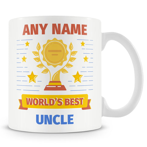 Uncle Mug - Worlds Best Uncle