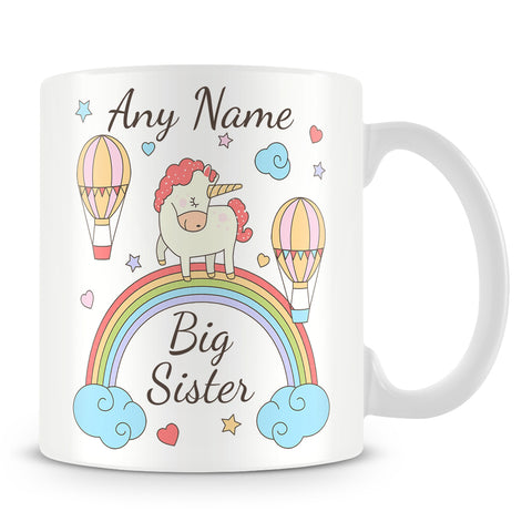 Unicorn Mug - Big Sister Unicorn Cup