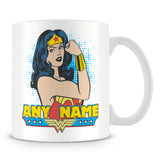 Wonder Woman Superhero Personalised Mug