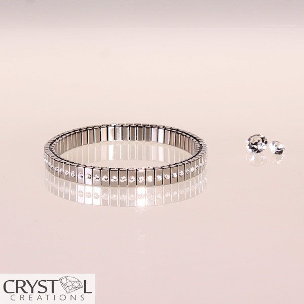 Expansion Selexion Bracelet - Single Row Mirror - Crystal Creations  - 1