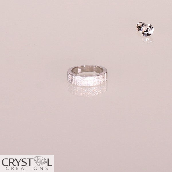 4 Row Pavė Band Set Ring - Crystal Creations