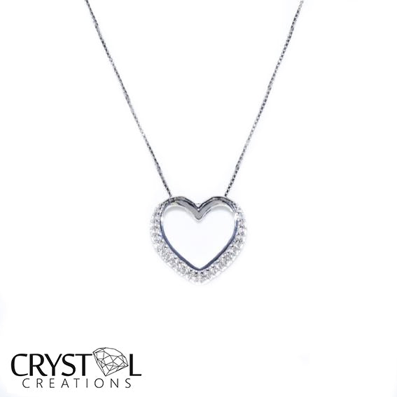 925 Sterling silver One heart pendant with free chain