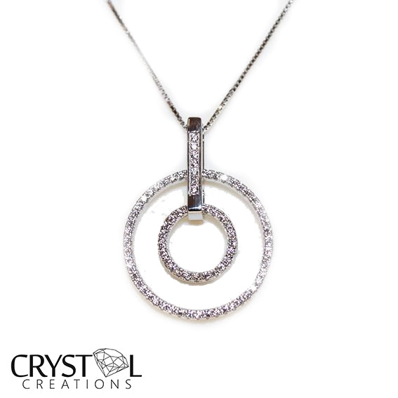 925 Sterling silver Ring pendant with free chain