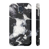 Black & White Cloud Marble Phone Case - CinderBloq Cases & Accessories