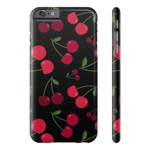 Black Cherry Phone Case - iPhone 6 Plus / 6s Plus - Cinderbloq Cases & Accessories