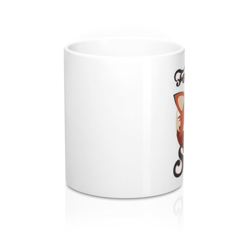 For Fox Sake Coffee Mug - Cinderbloq Cases & Accessories