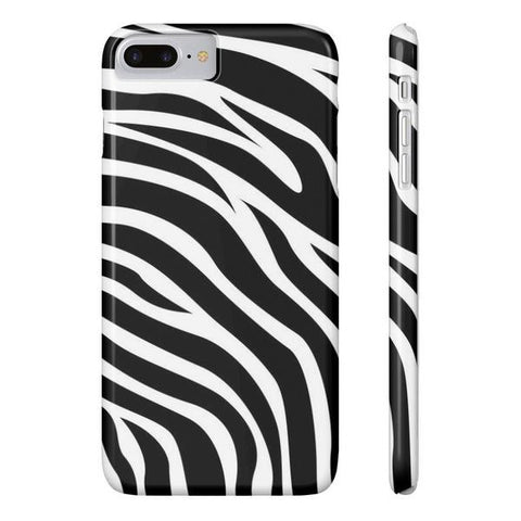 Zebra Print Case - iPhone 7 Plus - Cinderbloq Cases