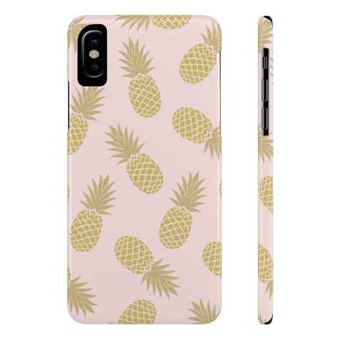 Golden Pineapple (Slim) Phone Cases (New)