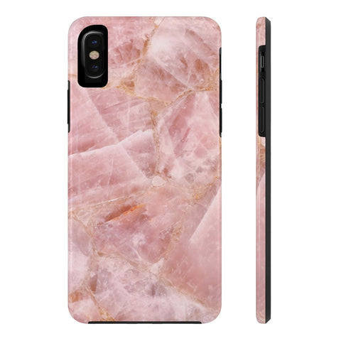 Rose Quartz Marble Phone Case