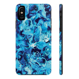 Electric Blue Marble Phone Case