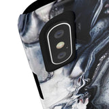 Black Ice Marble Phone Case - iPhone 7, iPhone 8 - CinderBloq Cases & Accessories
