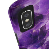 Amethyst Stone Phone Case - iPhone XS MAX - CinderBloq Cases & Accessories