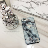 Blue Pearl Marble Phone Case - iPhone 8