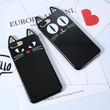3D Black Kitty Cat Silicone - B - TPU iPhone Case - iPhone 6/6s - Cinderbloq Cases & Accessories