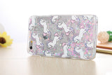 Fairy Dust Unicorn Liquid Glitter Waterfall Case (Iridescent Hearts) - Cinderbloq Cases & Accessories