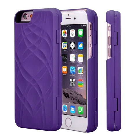 Mirror & Wallet iPhone Case (Purple) - CinderBloq Cases & Accessories
