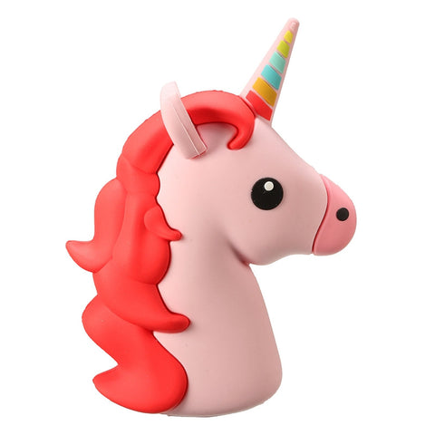 Majestic Unicorn Emoji Powerbank charger for iOS & Android (Pink)