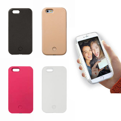 Light Up Phone Case - Take the Perfect Selfie iPhone Case - CinderBloq Cases & Accessories