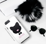 Meow! Glitter Cat Phone Case - iPhone 6 Plus / 6s Plus - Cinderbloq Cases & Accessories