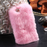 D'Luxe Fur Phone Case (Pink) - iPhone 7 Plus - Cinderbloq Cases & Accessories