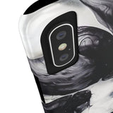 Black & White Cloud Marble Phone Case - Samsung Galaxy S7