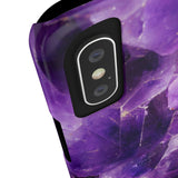 Amethyst Stone Phone Case - iPhone 7 Plus / 8 Plus - CinderBloq Cases & Accessories