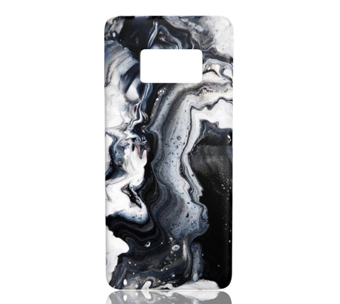 Black Ice Marble - Samsung Galaxy S8 - CinderBloq Cases & Accessories