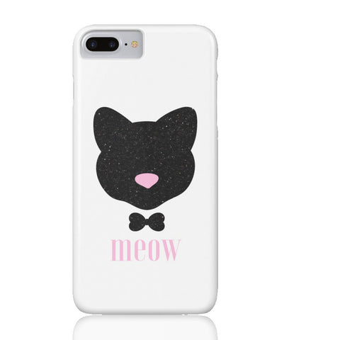Meow! Glitter Cat Phone Case - iPhone 7 Plus - Cinderbloq Cases & Accessories