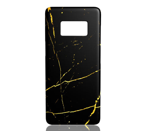 Black & Gold Marble - Samsung Galaxy S8