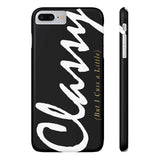 Classy But I Cuss A Little Phone Case - CinderBloq Cases & Accessories