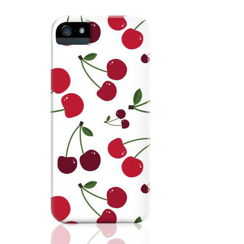 White Cherry Phone Case - iPhone 5/5s/5se - Cinderbloq Cases & Accessories